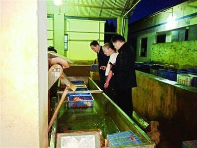 武汉有人集中回收死虾 被运进食品加工厂做虾仁