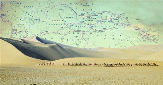 百年前一德国人命名丝绸之路 把都江堰介绍给世界