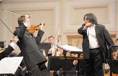 敦交响乐团首席小提琴津门首秀