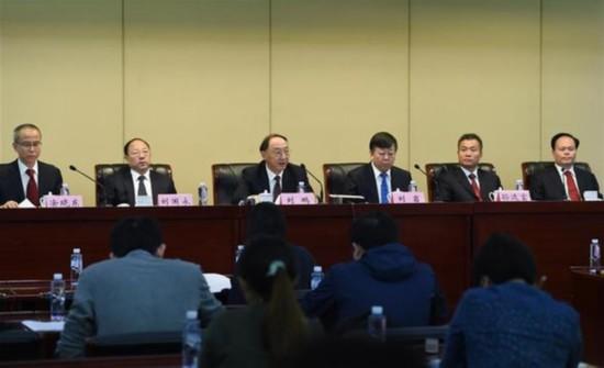 """(体育)(5)体育发展""""十三五""""规划新闻发布会在京举行"""