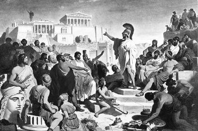 """雅典民主制历史上的两次""""无痕蜕变"""""""