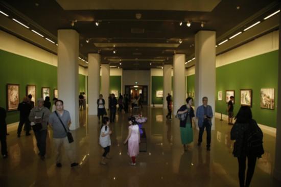 须其自来--谌北新油画艺术展 在中国美术馆开幕