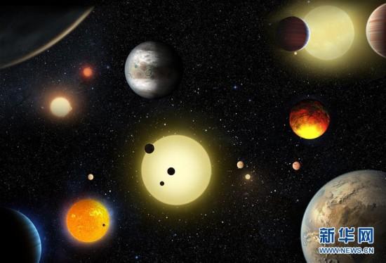 """""""行星神探""""新确认近1300颗行星 外星世界数量翻一番"""