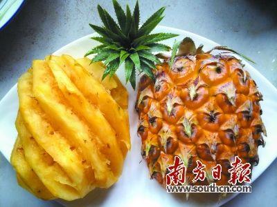 美食菜谱:菠萝子姜炒牛肉