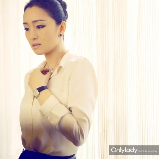 巩俐:我想做一名出色的腕表设计师