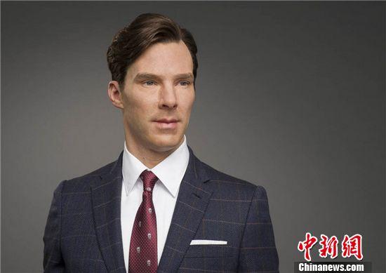 """""""卷福""""蜡像将在香港杜莎夫人蜡像馆展出"""
