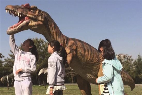 海东市乐都区大型恐龙主题公园隆重开幕