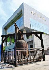 位于达州博物馆门口的南宋鸿钟。