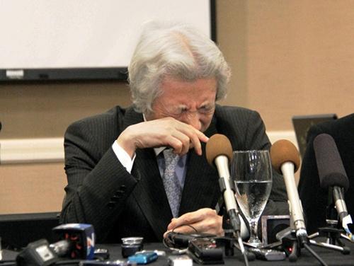 小泉纯一郎记者会上流泪替受辐射美国士兵发声