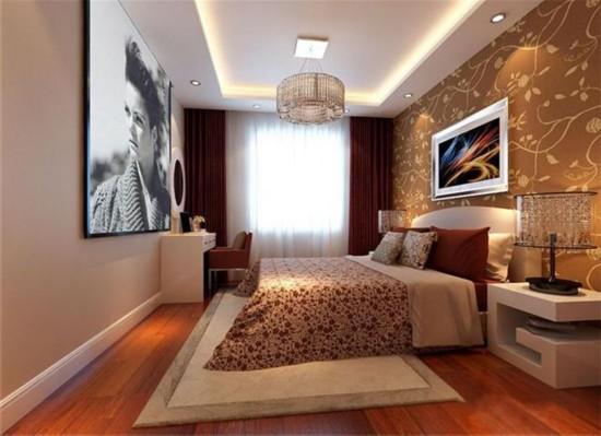 时尚街区东区-三居室-90.00平米-装修设计
