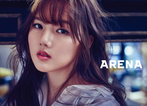 韩国女团GFriend主题写真 蕾丝黑纱造型变成熟【组图】