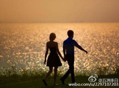 刘翔与女友秀恩爱 撒贝宁妻子秀牵手