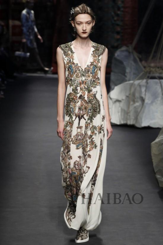 2016春夏米兰时装周:安东尼奥·马拉斯 (Antonio Marras) 女装秀