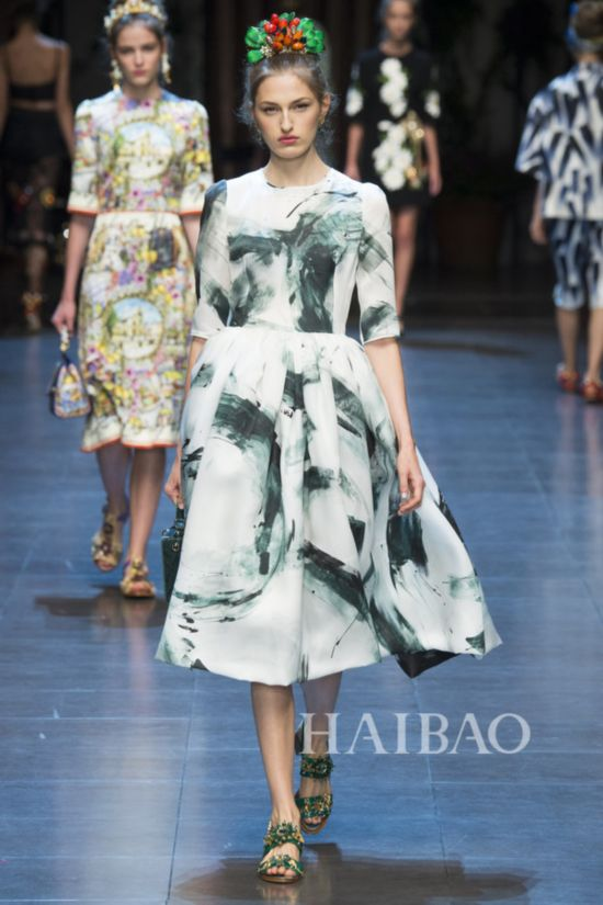 2016春夏米兰时装周:杜嘉班纳 (Dolce & Gabbana) 女装秀