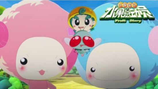 片段中,除了水果宝贝天团和恶虫小分队队员悉数亮相外,软萌可爱的绵羊