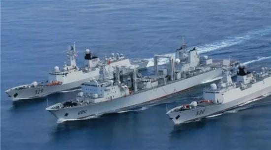 人民海军海上保障向远海大洋延伸