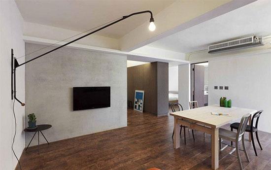 极简53平小公寓 回归房子的原始本质