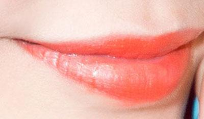 """八公举:她们纷纷换上""""水光橙""""唇"""