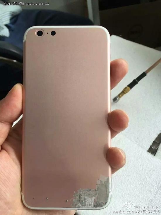 外观基本确认没啥变化 iPhone7后壳曝光