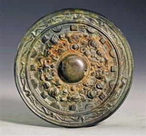 深圳博物馆藏汉末三国佛像镜