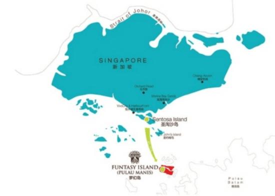 开发商地图闹乌龙险些酿成印尼与新加坡外交风波