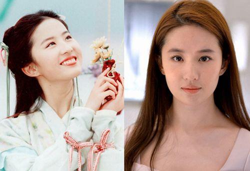刘亦菲教你留住25岁的神仙术   那一年只有17岁的刘天仙,皮肤嫩的可图片