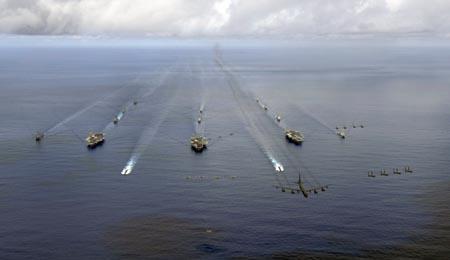 美海軍艦隊將首次動用地中海航母打擊IS