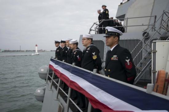 """美國""""波特""""號驅逐艦將進入黑海 參與北約軍演"""