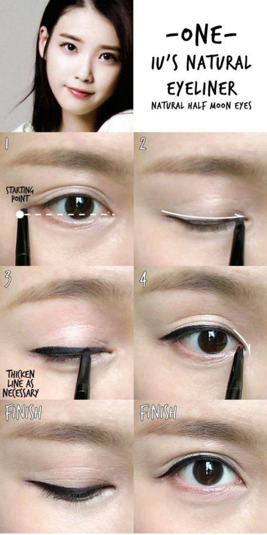 学会6款韩系眼线 变成IU或秀智都不难