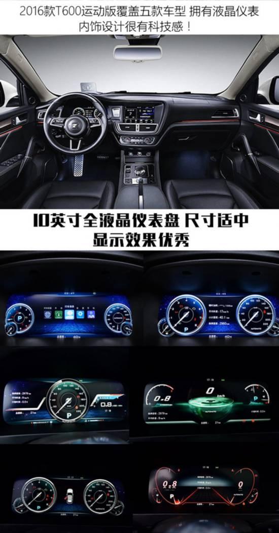 选车帮帮忙之 配备全液晶仪表盘车型推荐-图2