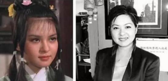 TVB金庸武侠剧女演员今昔对比,你还认得出吗?_大粤网_腾讯网