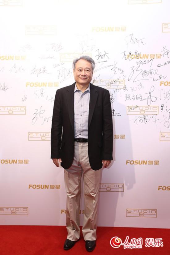 李安亮相上影节 将与中国资方合作新片