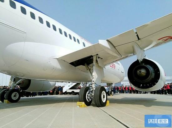 组图:国产大飞机C919首飞时间曝光 360度环视C919细节