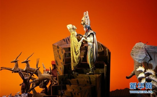 迪士尼经典音乐剧《狮子王》中文版全球首演