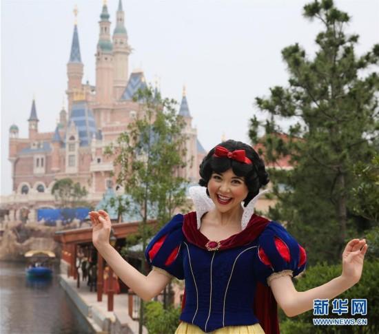 上海迪士尼度假区即将开园(高清组图)