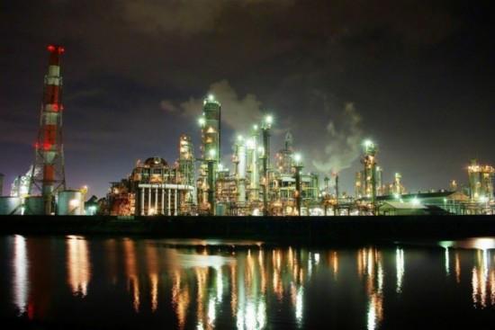 四日市工厂夜景游轮的魅力:-游日本新方式 夜游五大区工厂夜景图片