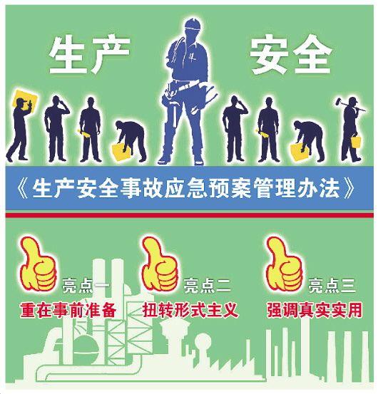 新生产安全事故应急预案管理办法将施行