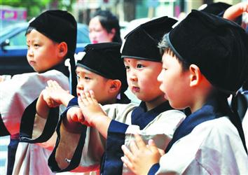 国学走进幼儿教育