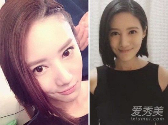 《余罪》安嘉璐VS林宇婧额头PK女生发适合方脸发型大发型判若的中长长短图片