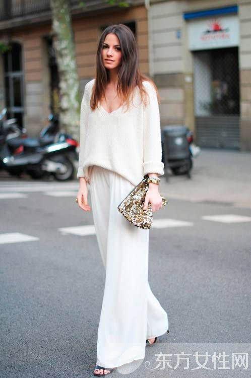 白色衣服颜色搭配 几个小技巧让你成为时尚宠儿