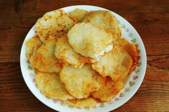 用来祭献神灵的土豆饼