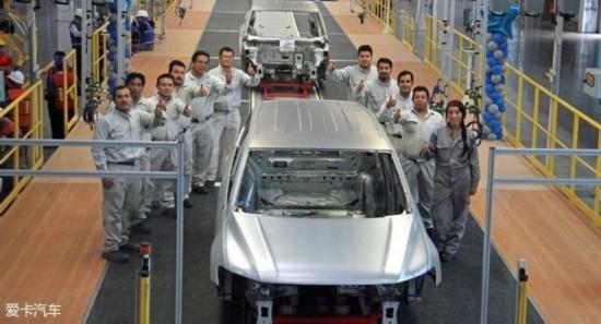 大众Tiguan长轴版白车身下线 明年亮相