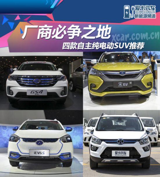 纯电动SUV车型导购
