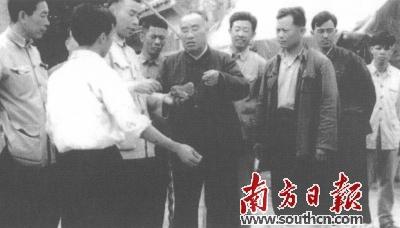 """""""客籍人""""朱德关注广东外贸城乡发展群众生活"""