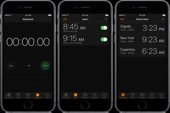 苹果iOS10「暗黑模式」截图正式曝光!