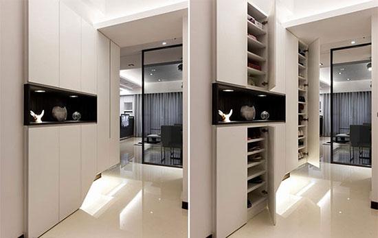 轻装修概念 设计感极强的黑白现代家