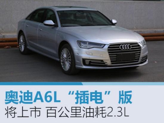 """奥迪A6L""""插电""""版将上市 百公里油耗2.3L-图1"""