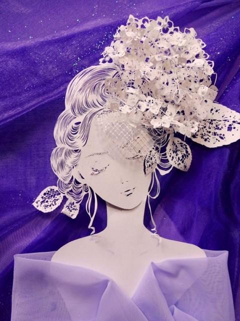 最新日本艺术_日本艺术家的惊人作品:一张纸刻出立体埃菲尔塔