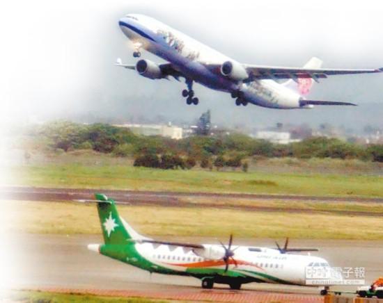 台湾旅游业预估:两岸航班5月后月月负成长