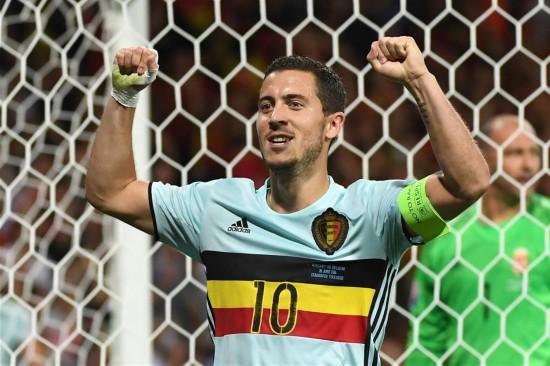 八分之一决赛:比利时胜匈牙利